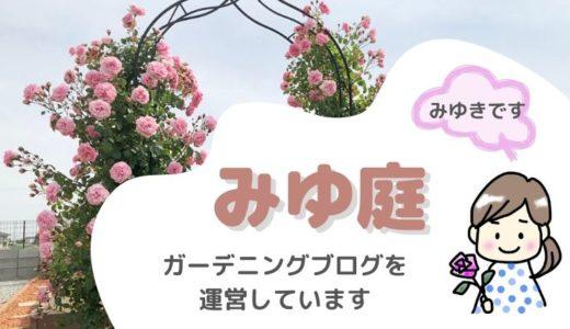 みゆき<みゆ庭>ガーデニングブログ